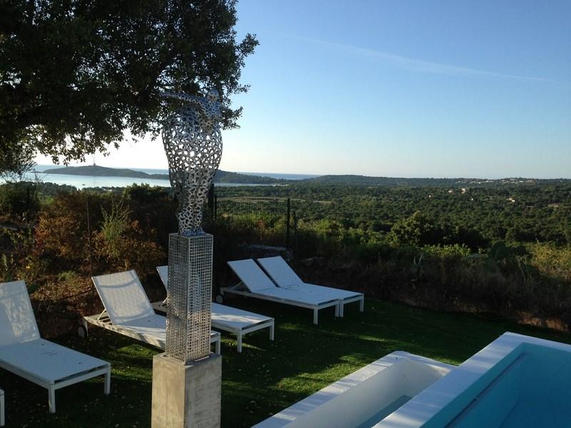 Terrasse Villa de Prestige en Corse