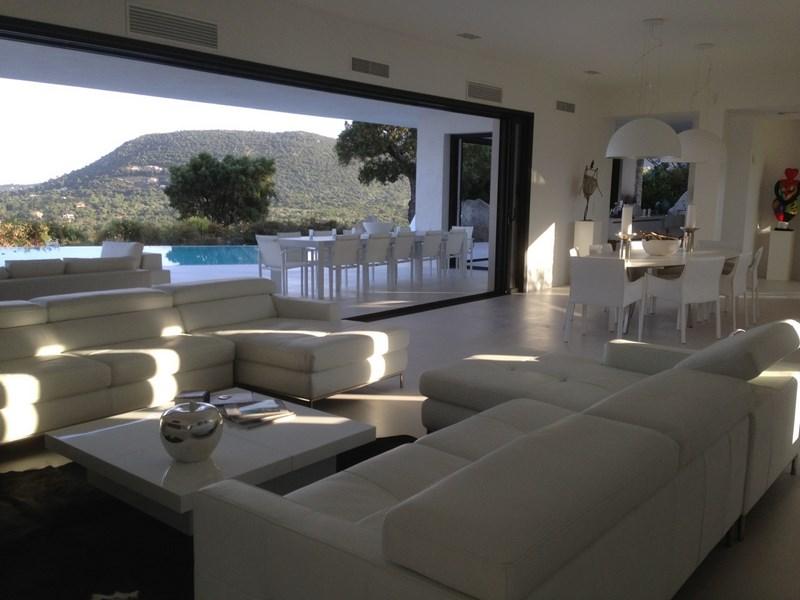 Pièces de vie Villa en Corse